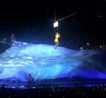 Katy 'walking on air'